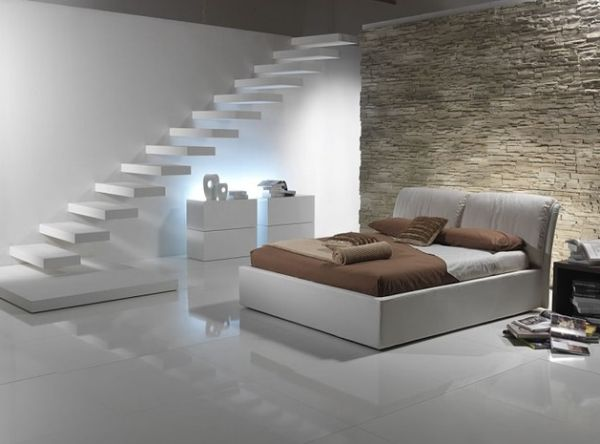Stunning-floating-staicase-in-white-for-the-minimalist-home