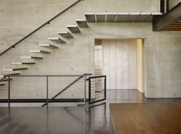 Stylish-stair-treads-make-up-this-floating-stairs-that-could-leave-many-breathless