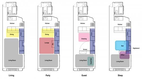 Unfolding-Apartment