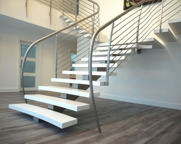 Unique-handrail-design-adds-further-charm-to-this-floating-stairway