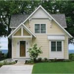 บ้านไม้สองชั้นขนาดเล็กสไตล์ชนบท แต่มีความอบอุ่นของครอบครัวที่ยิ่งใหญ่