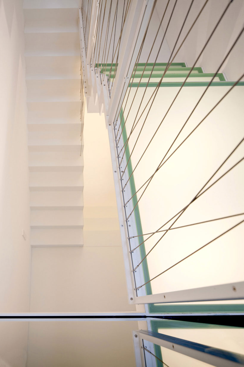 White-Staircase