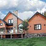 แบบบ้านไม้ชั้นครึ่ง สไตล์อเมริกันคันทรี จัดสรรพื้นที่ทุกสัดส่วนได้อย่างลงตัว