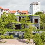 ไอเดียบ้านทรงกลมสร้างจากหิน พร้อมพื้นที่สีเขียวรอบบ้าน ให้เย็นสบายทั้งวัน