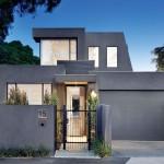 บ้านสไตล์โมเดิร์นสีเทาเข้ม ดูเคร่งขรึมเรียบง่าย แต่แฝงไว้ด้วยความหรูหรา