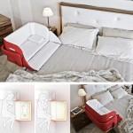 เปลนอนลูกน้อยแบบติดเตียง ช่วยแบ่งเบาภาระคุณแม่มือใหม่ ไม่ต้องลุกไปมาบ่อยๆ