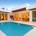 แบบบ้านชั้นเดียว สวยหรูแบบโมเดิร์น ผสมผสานด้วยสไตล์เมดิเตอเรเนียน