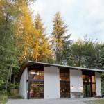 บ้านชั้นเดียวแบบเรียบๆสไตล์โมเดิร์น เน้นการใช้พื้นที่ทุกส่วนร่วมกันของครอบครัว