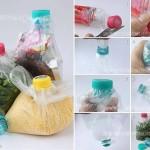 ไอเดียทำถุงเก็บอาหาร DIY ด้วยตนเอง ปิดแน่นหนาซะจนน้ำก็ยังไม่ไหลออก