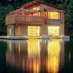 แบบบ้านไม้ลอยน้ำ แนวทางบ้านใกล้ชิดธรรมชาติ และรับมือน้ำท่วมได้สบาย