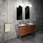 Componendo ชุดสุขภัณฑ์สแตนเลสสุดหรูสำหรับตกแต่งห้องน้ำ จากประเทศอิตาลี
