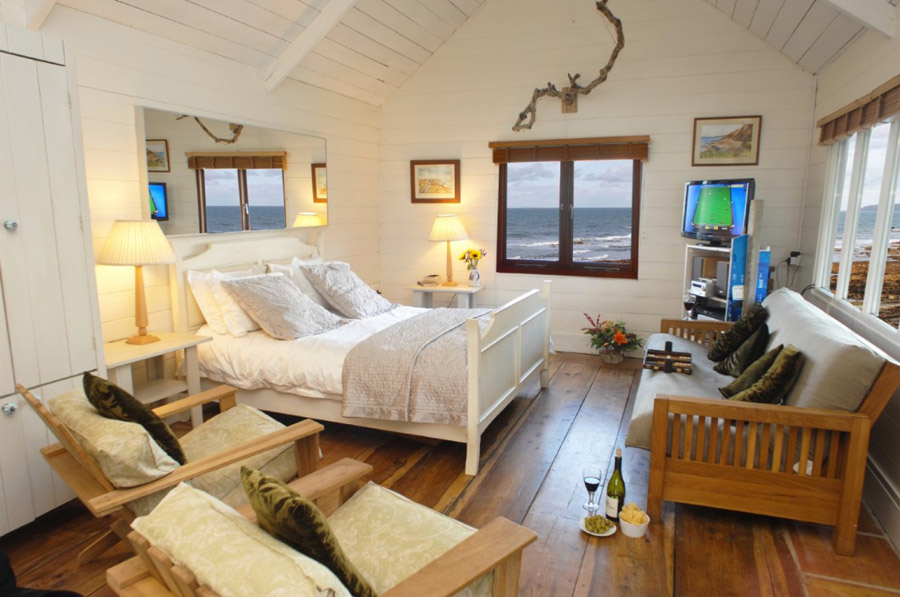 beach cottage wood house romantic (3)