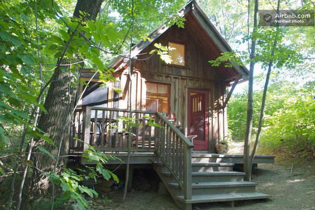แบบบ้านกระท่อมไม้หลังเล็ก ท่ามกลางบรรยากาศธรรมชาติ สดชื่น ...