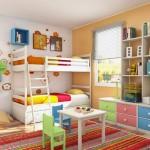 รวมไอเดียแต่งห้องสีสันสดใส สำหรับลูกน้อยและเด็กเล็ก อย่าพลาดเลย…