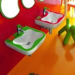 ไอเดียการตกแต่งห้องน้ำสีสันสดใส เพื่อให้เด็กๆหลงรัก อยากอาบน้ำมากขึ้น