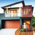 แบบบ้านสองชั้นรูปทรงโมเดิร์นมีเอกลักษณ์ ใช้สอยพื้นที่ทุกตารางนิ้วอย่างคุ้มค่า