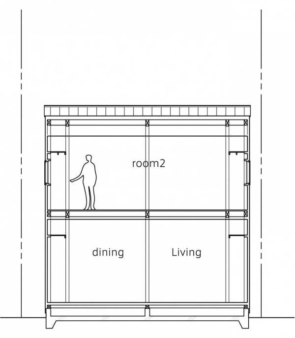 japanese wood townhouse idea (1)