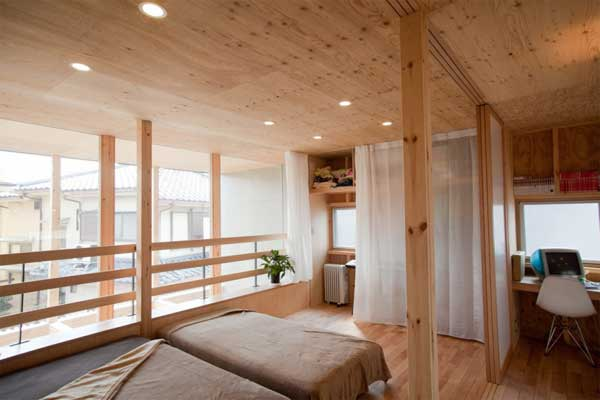 japanese wood townhouse idea (10)
