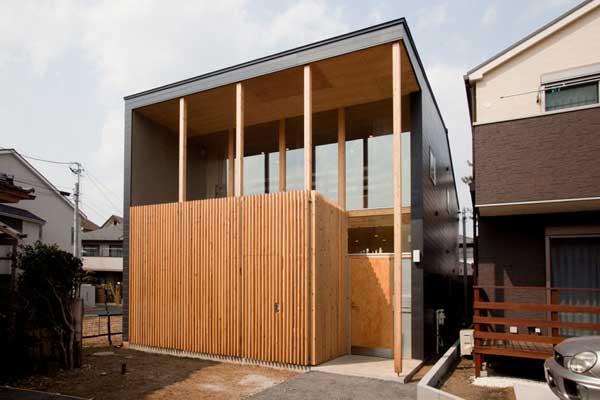japanese wood townhouse idea (11)