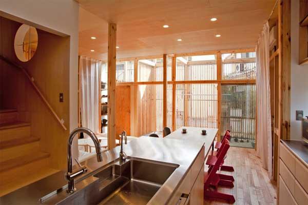 japanese wood townhouse idea (19)