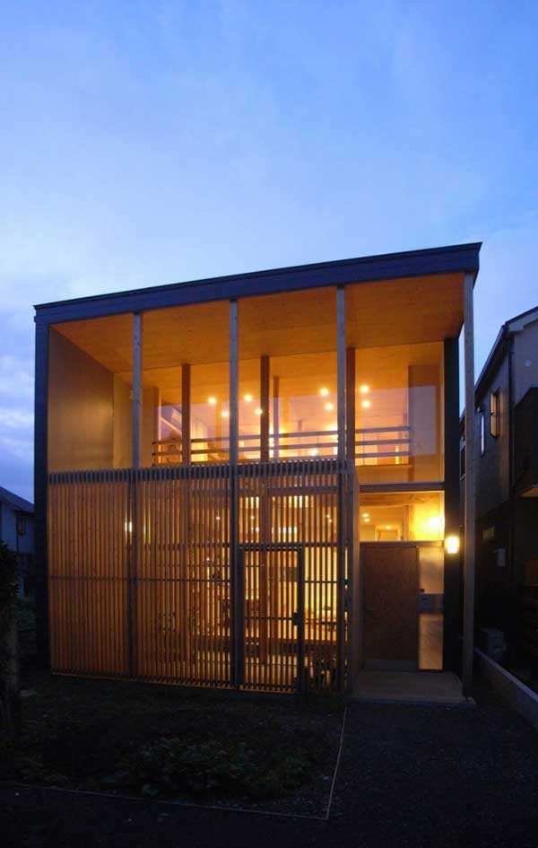 japanese wood townhouse idea (2)