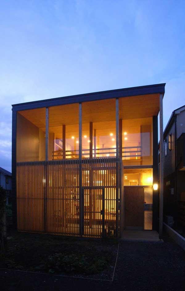 japanese wood townhouse idea (2)