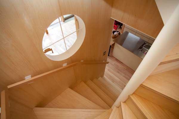 japanese wood townhouse idea (4)