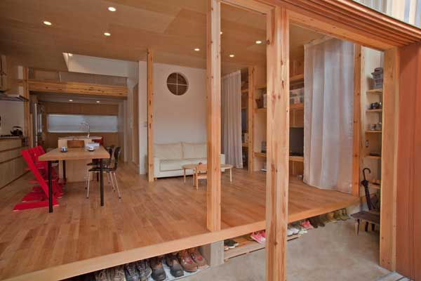 japanese wood townhouse idea (7)