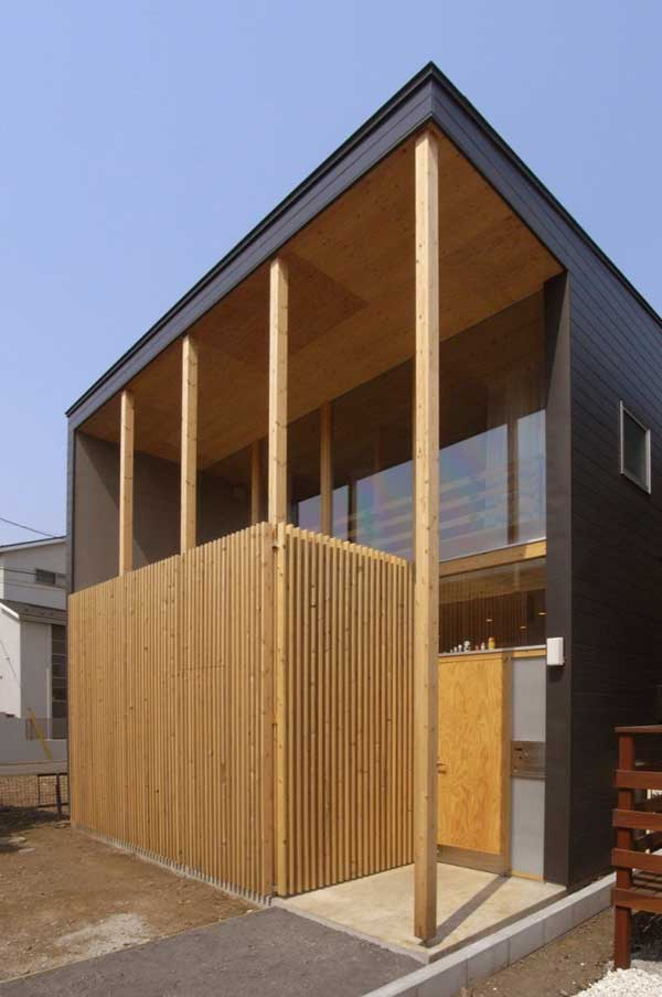 japanese wood townhouse idea (8)