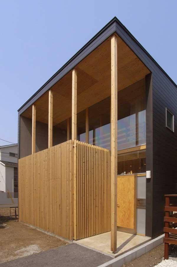 japanese wood townhouse idea (8)