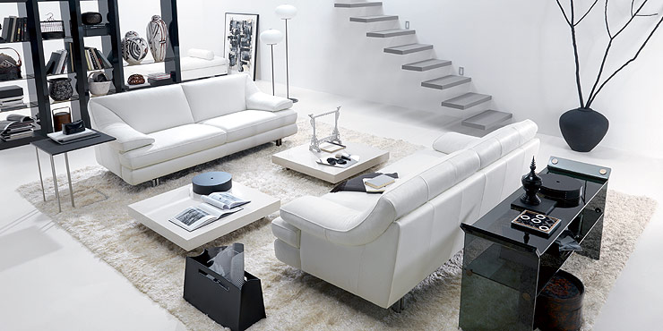 living room black white (2)