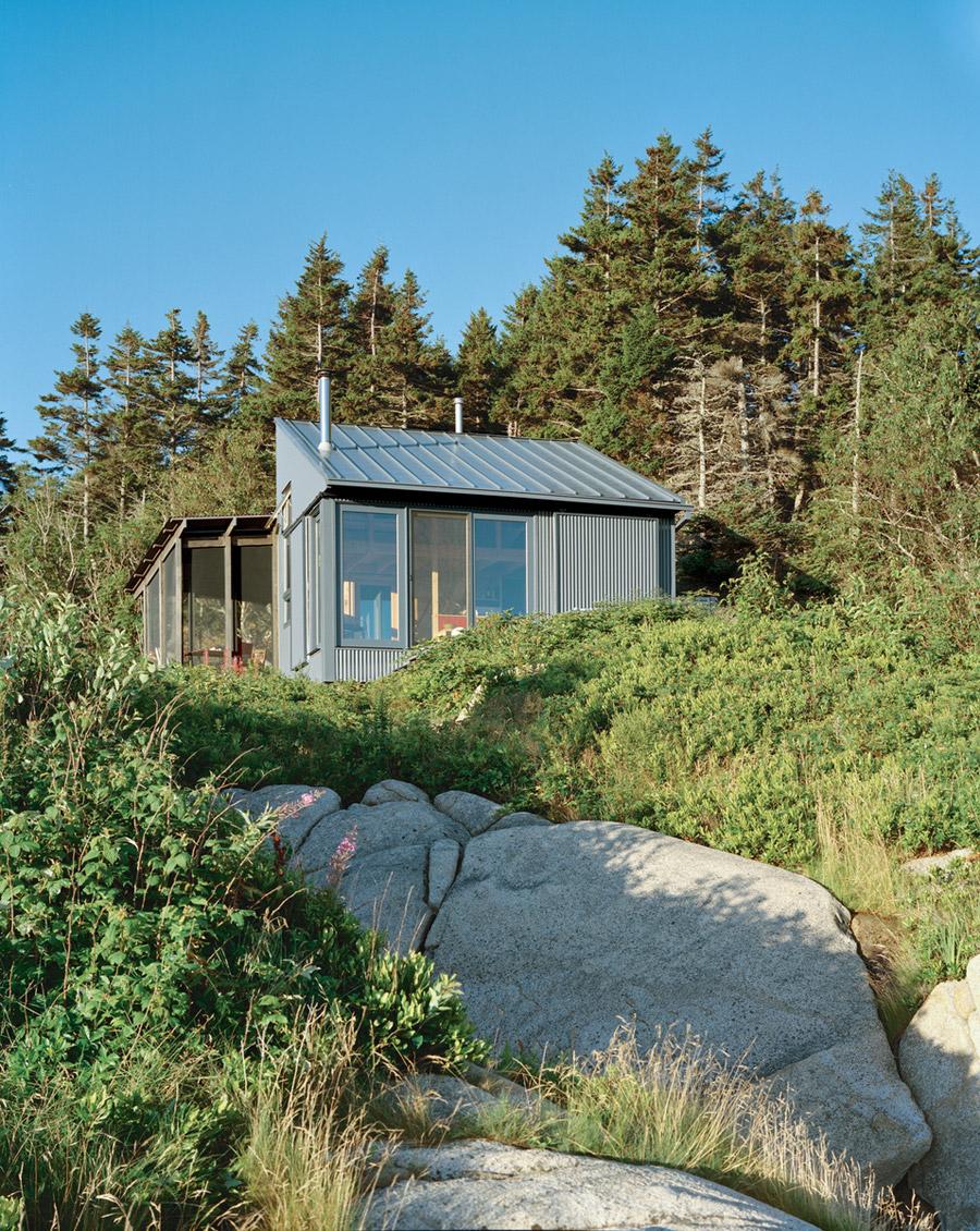 metal sheet cottage house mountain (2)