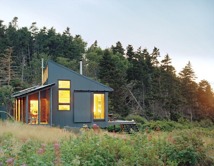 metal sheet cottage house mountain (6)