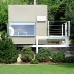แบบบ้านคอมแพ็คหลังเล็กสไตล์โมเดิร์น ออกแบบตามแนวคิดอนุรักษ์ธรรมชาติ