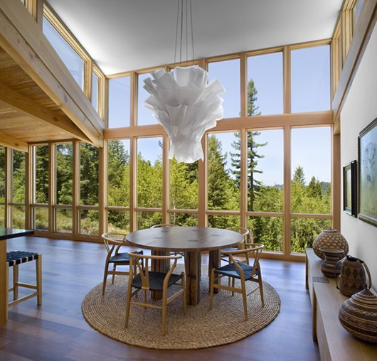 modern wood house forest (1)