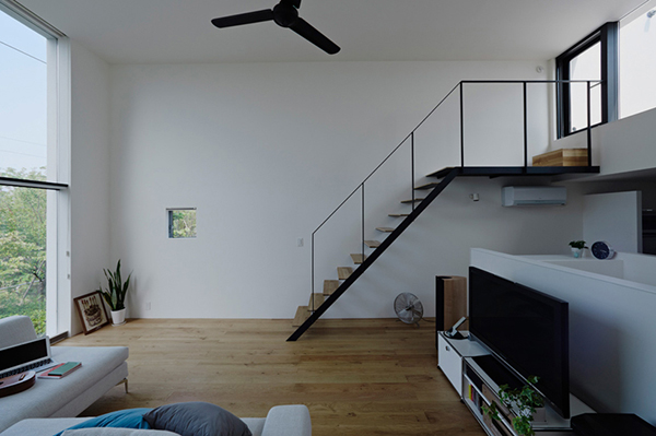 small compact modern house japan (14)