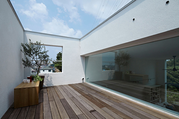 small compact modern house japan (3)