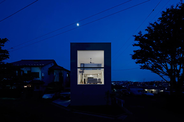 small compact modern house japan (7)