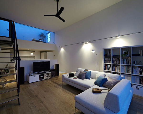 small compact modern house japan (8)