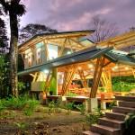 แบบบ้านไม้ไผ่หลังคาสังกะสี ออกแบบให้โปร่งๆ สำหรับชีวิตใกล้ชิดธรรมชาติ
