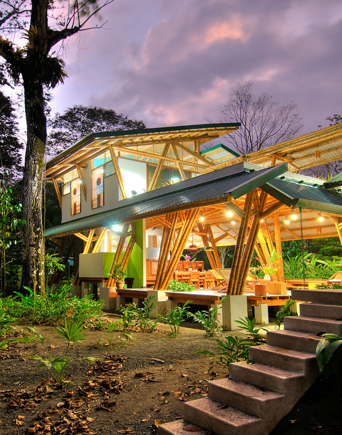 tropical resort bamboo nature (1)