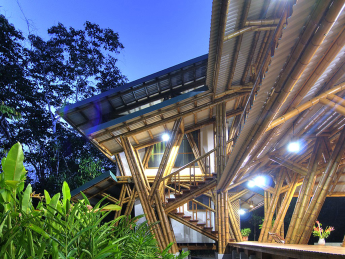 tropical resort bamboo nature (14)