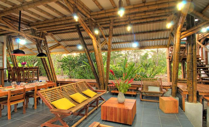 tropical resort bamboo nature (15)