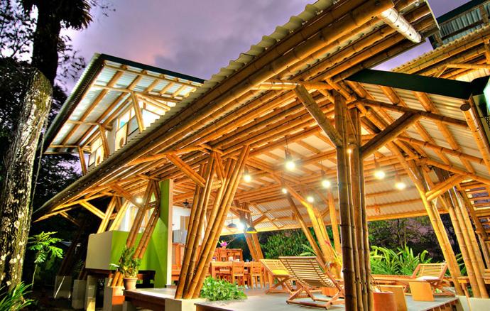 tropical resort bamboo nature (17)