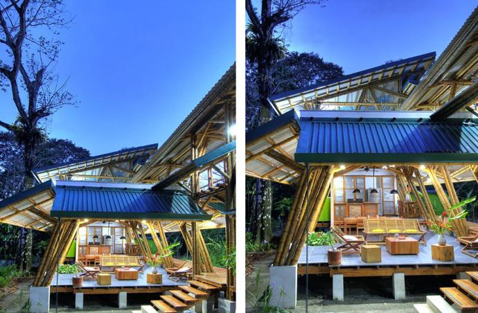 tropical resort bamboo nature (2)