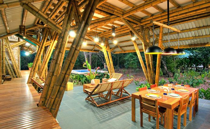 tropical resort bamboo nature (20)
