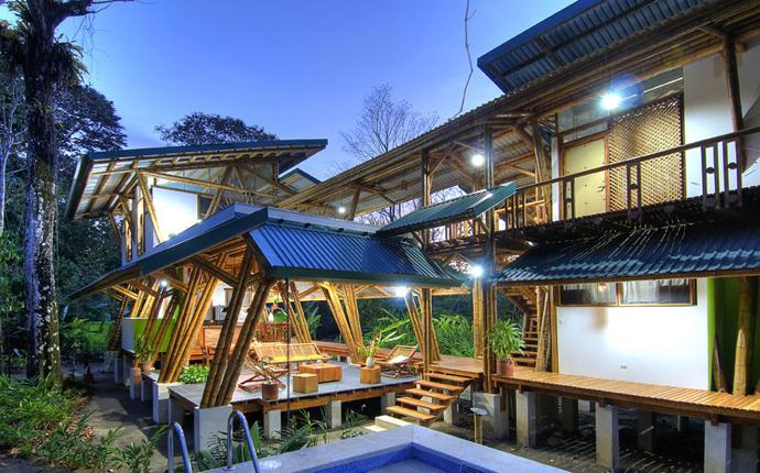 tropical resort bamboo nature (6)