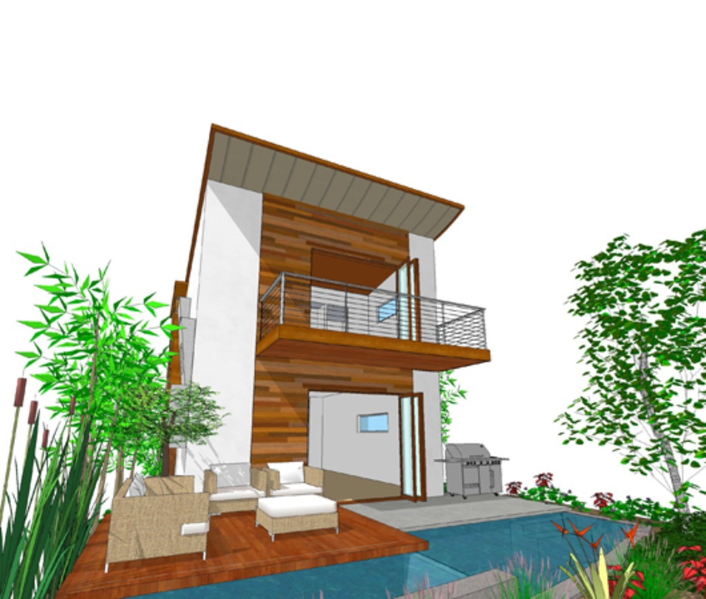 3 storey modern house plan (3)