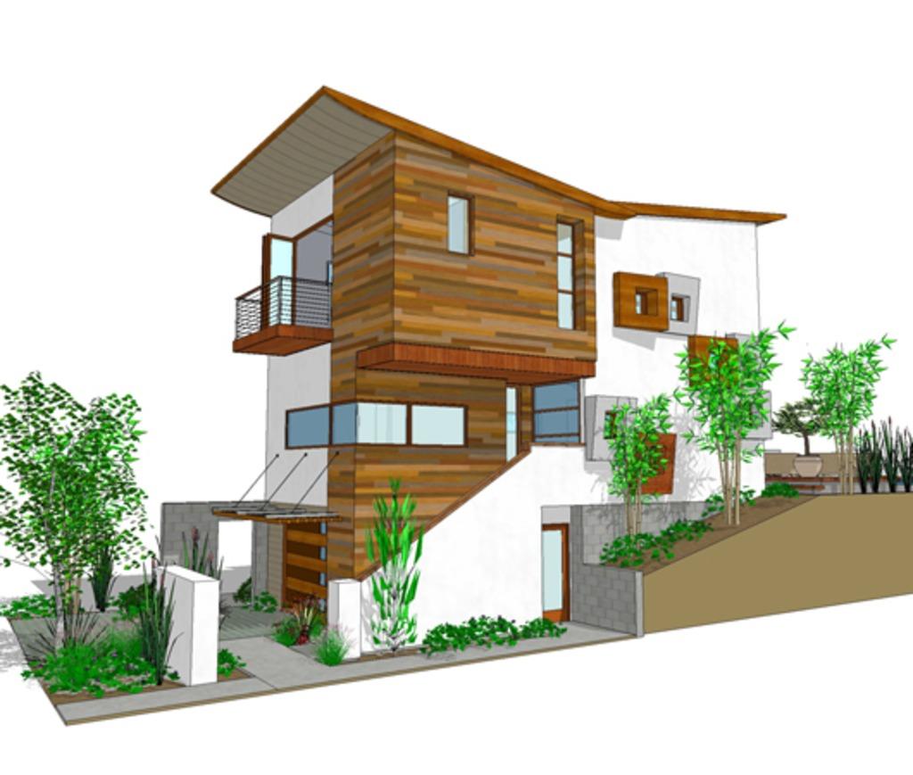 3 storey modern house plan (9)
