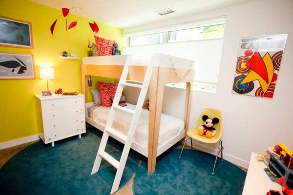 bedroom decoration bunk bed idea (1)
